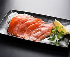 商品A三上の紅鮭燻製写真